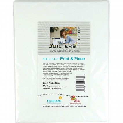 Select Print & Piece- 25ct