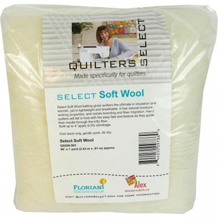 Select Soft Wool Batting Limited Edition Size