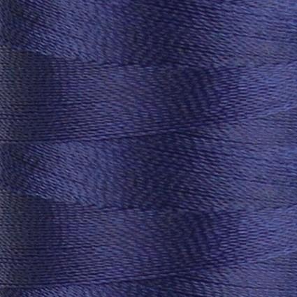 NAVY SATIN Para-Cotton Poly Thread: 80wt 437yds