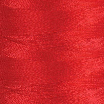 RUBY RED Para-Cotton Poly Thread: 80wt 437yds