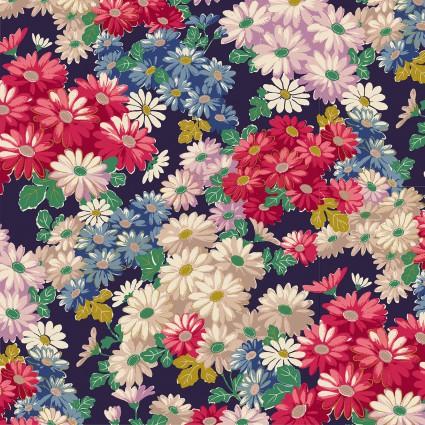 Flower's Poetry Metallic
