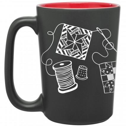 Quilting Scribbles Mug