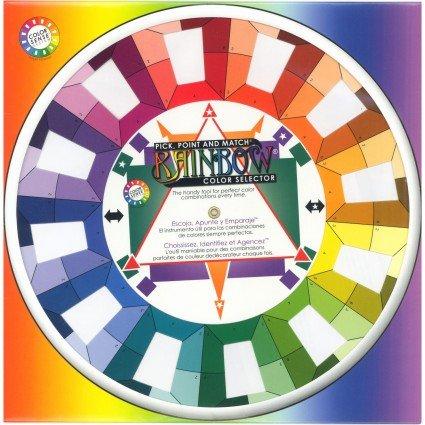 Rainbow Color Selector Wheel - Studio Size