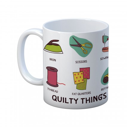 Quilty Things Mug