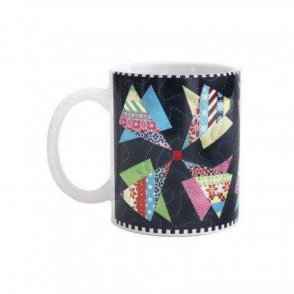 Modern Pinwheels Mug