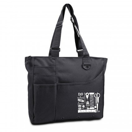 Do What You Love Tote Bag-Black