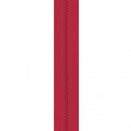 24 Zipper Real Red red