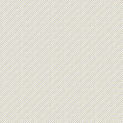 Sparkle Gold/Silver Diagonal Stripe