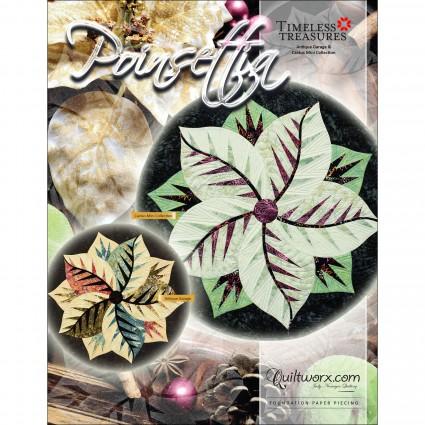 Poinsettia Table Topper
