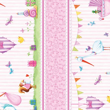 Red Rooster A Bundle of Pink 26403 Pink Stripe