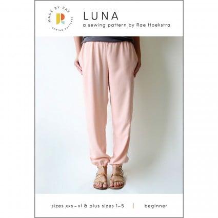Luna Pants/ xxxs-xl & plus sizes 1-5 by Made by Rae