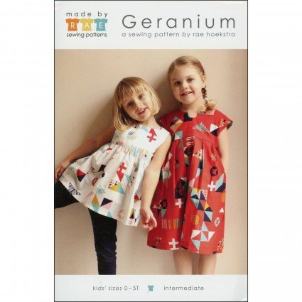 Geranium Top/Dress Pattern - Made by Rae (6 mos. - 5t)