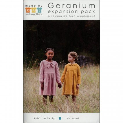 Geranium Top/Dress Expansion Pack - Made by Rae (sizes 0-12y)