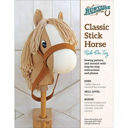 Classic Horse Ride-On Toy