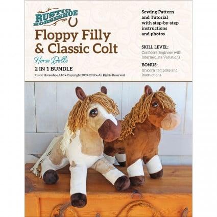 Floppy Filly Horse Stuffed Toy Patten