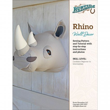 Rhino Wall Decor Pattern