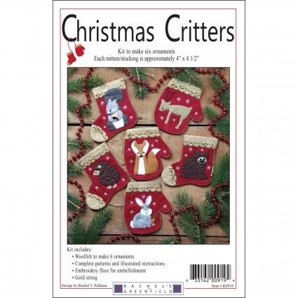 Christmas Critters Wool Kit