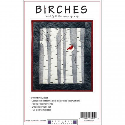 Birches Wool Wall Quilt Kit