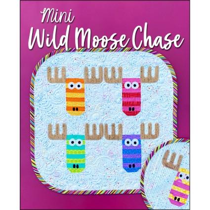 Mini Wild Moose Chase Pattern by Sasafrass Lane