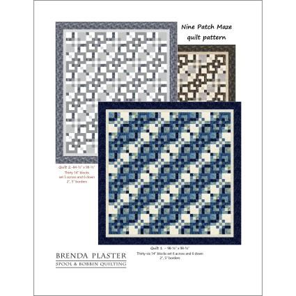 Nine Patch Maze Pattern