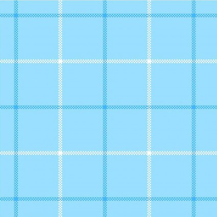 Local Color Yarn Dyed Flannel Blue Plaid