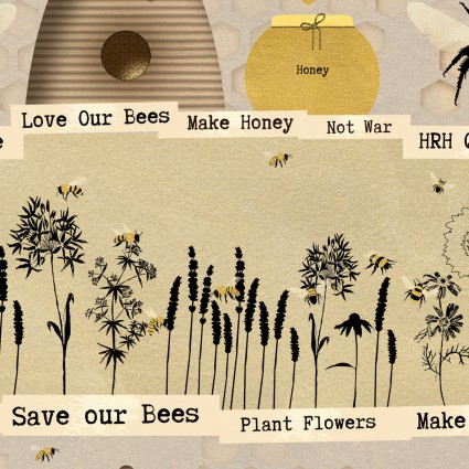 Save Our Bees Pattern 3958