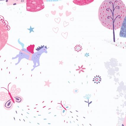 Unicorn Kisses 4053 White