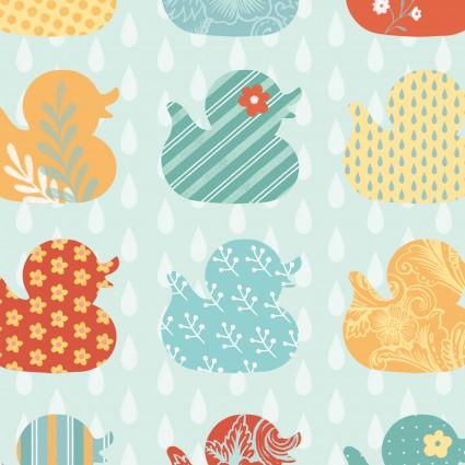 Ducky Tales Aqua 4143-11
