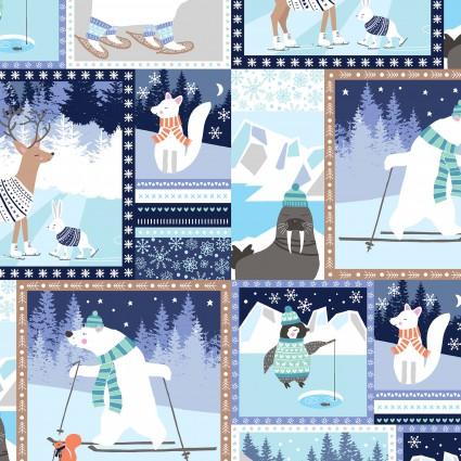 Snow Happy Blue 4182