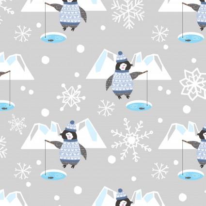Snow Happy Grey 4185