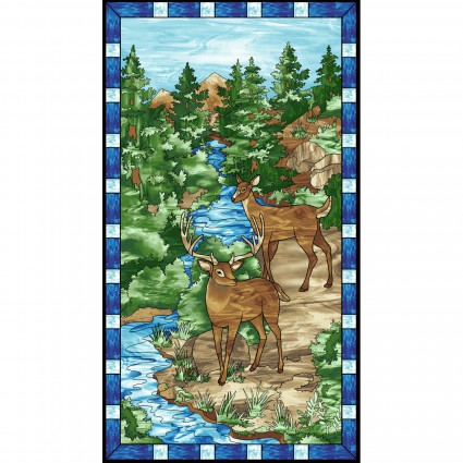 Mosaic Forest - Panel