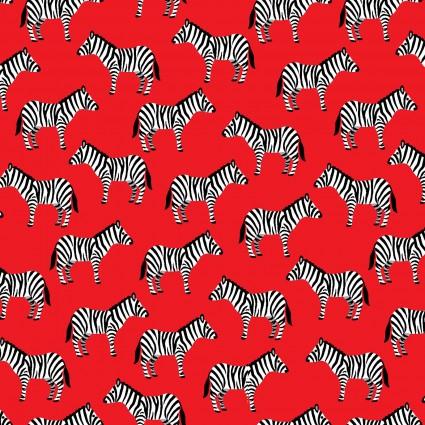 Little Explorers Zebras Red