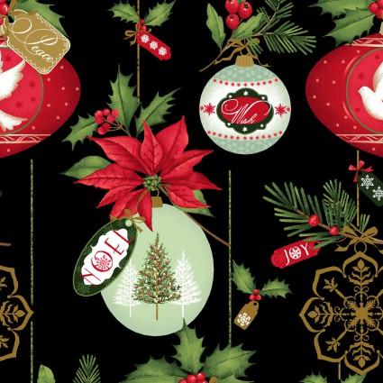Christmas Village with Metallic by Art Loft '