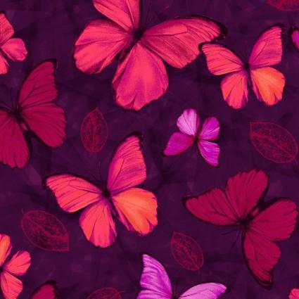 Studio E Viva Terra Mulberry Small Butterfly