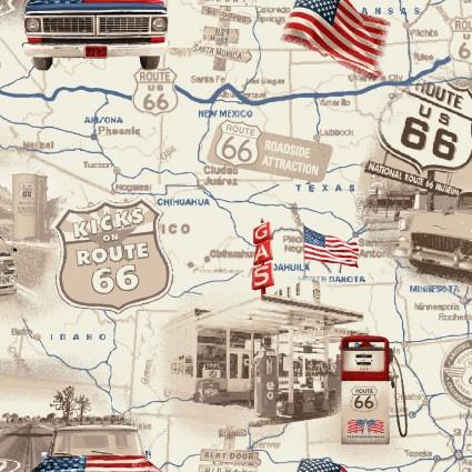 All-American Road Trip Roads Cream
