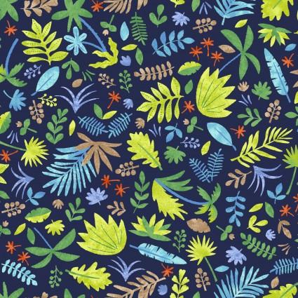 Hear Me Roar Foliage - Blue