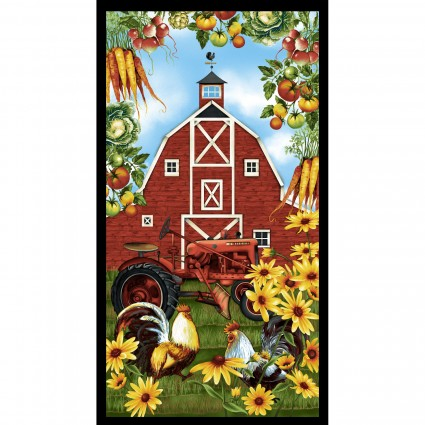 Farmer's Market Barn Panel - 24 x 44