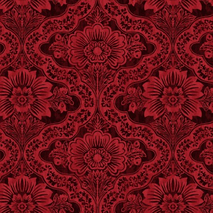 Farmer's Market Damask Red