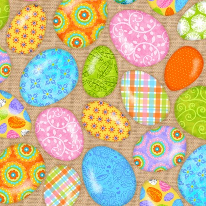 Carrot Patch Easter Eggs