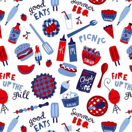Patriotic Parade BBQ