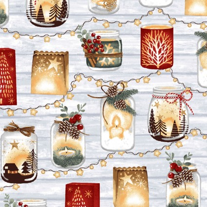 Snowy Magic Candle Votives - Frost