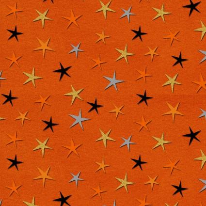 Cheekyville Orange Stars