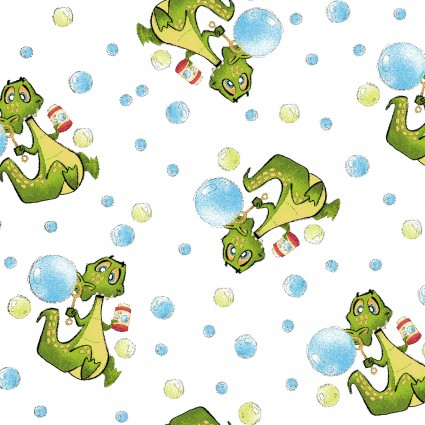 A Jungle Story Alligator Blowing Bubbles