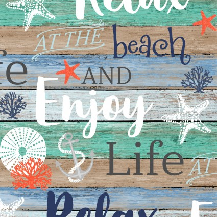 Coastal Dreams Beach Words