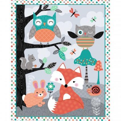 Owl's Woodland Adventure Panel