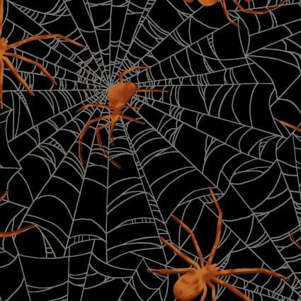 Harvest Moon - Black Spider Web
