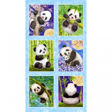 Panda Sanctuary Panel