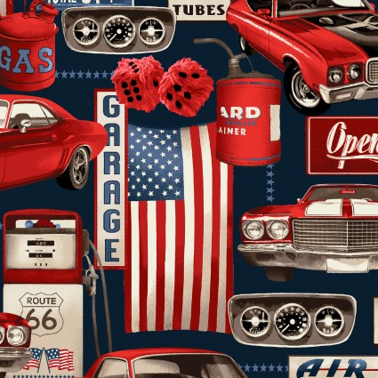 American Muscle Garage Collage 5333 78
