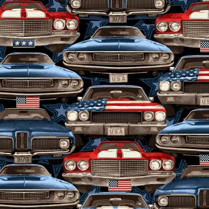 American Muscle On Coming Cars 5334 78