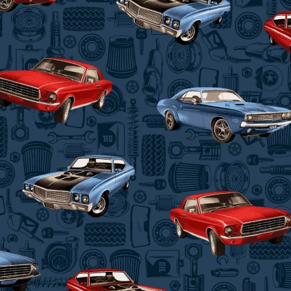 American Muscle Tossed Muscle Cars 5336 78